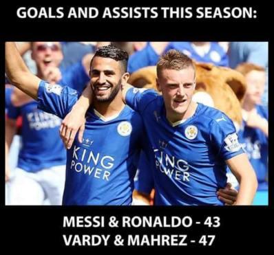 Vardy Mahrez