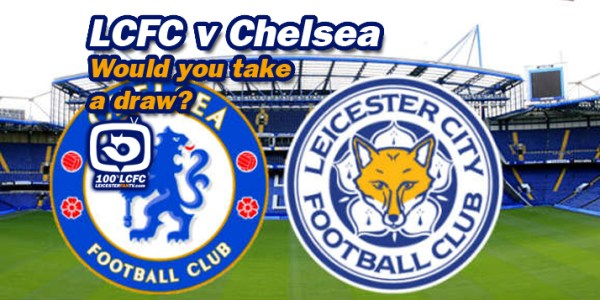 Would YOU take a draw against Chelsea?