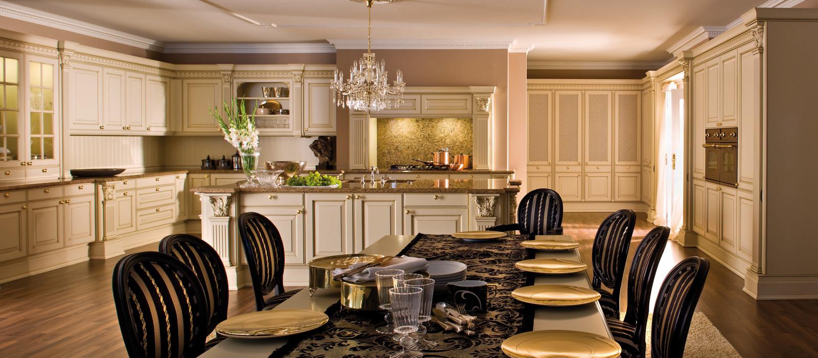 versailles de luxe european kitchen cabinets Luxury Kitchen Cabinets