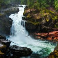 Silver Falls on Mount Rainier