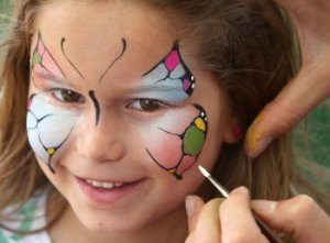 Face-painting-butterfly