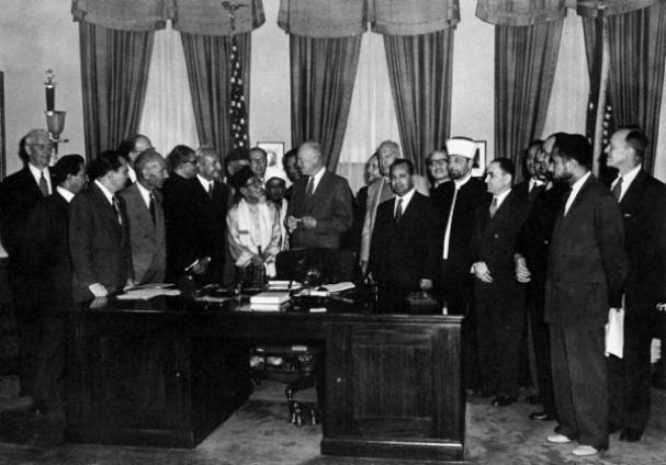 Eisenhower_Said-Ramadan_23septembre1953
