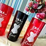 Copos long drink personalizados Chá de Lingerie