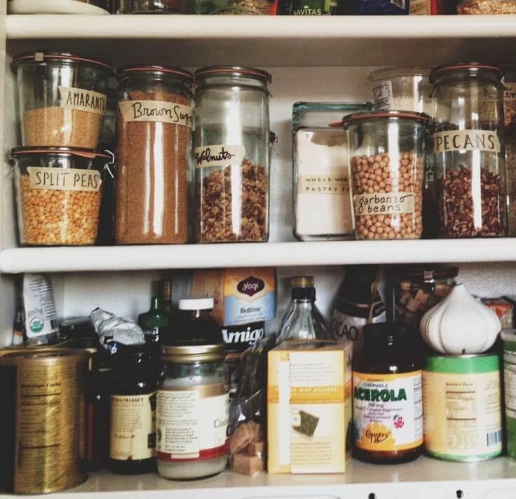 Gift in a jar barattolo per riordinare le m cronache - Metodo kondo cucina ...