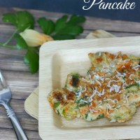 Zucchini Blossom Pancake