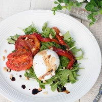 Burrata & Roasted Tomato Salad