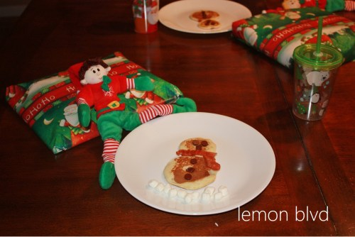 North Pole Breakfast Pancakes - lemon blvd
