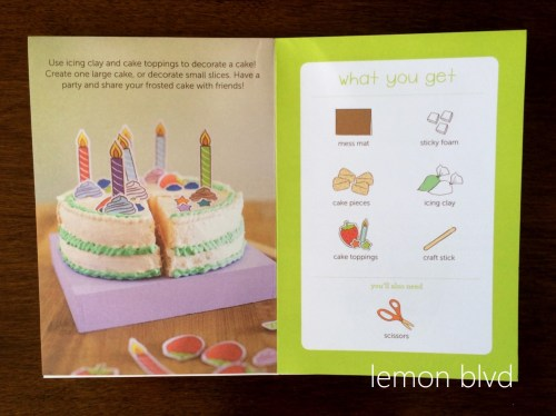 lemon blvd - Kiwi Crate Review - Frosted Cake Book