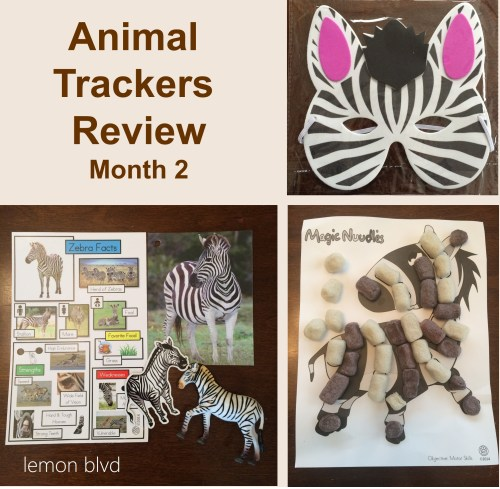 Animal Trackers Review - Month 2 - lemon blvd