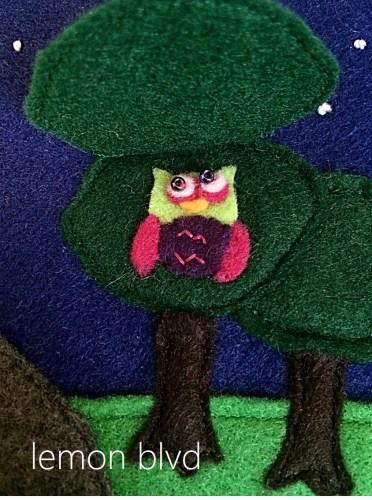 Quiet Book Owl - lemon blvd