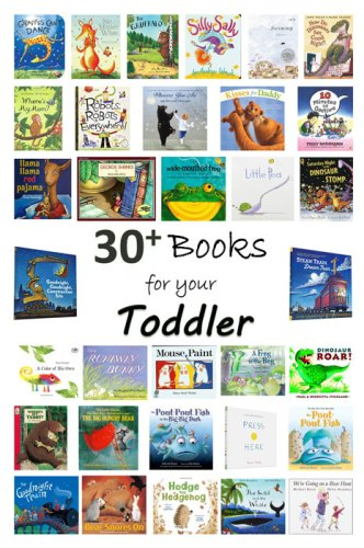Books for your Toddler - books to build a children's library