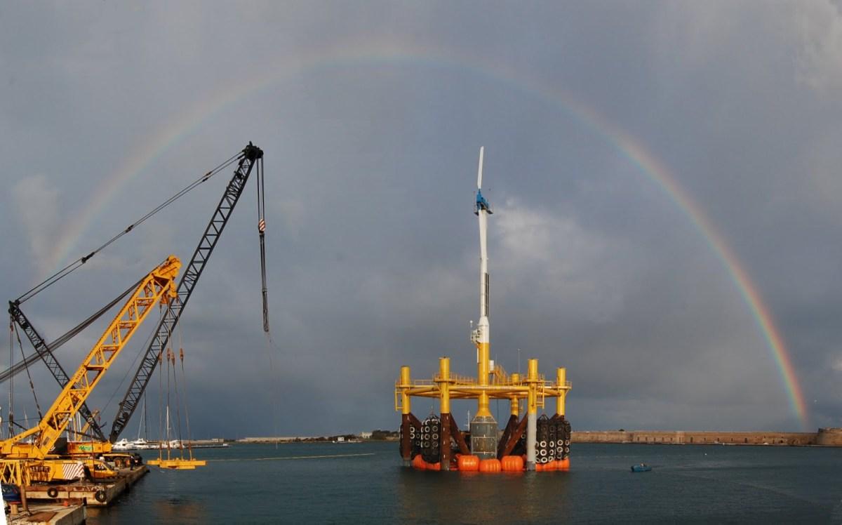 Alstom inaugure une éolienne offshore géante au Carnet