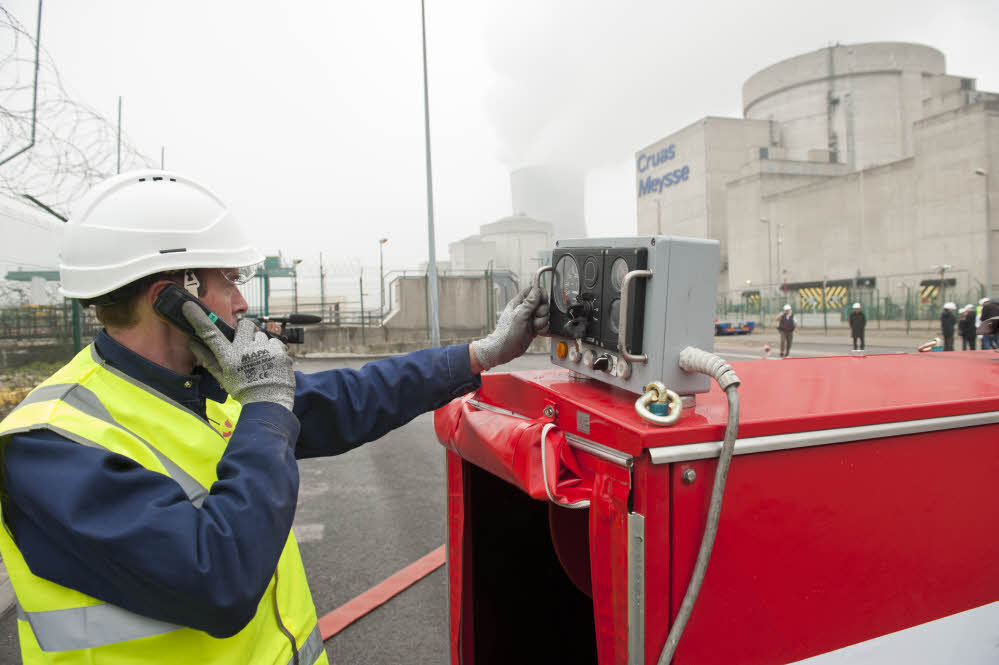 Sûreté nucléaire : la formation de la FARN débute sur la base de Paluel