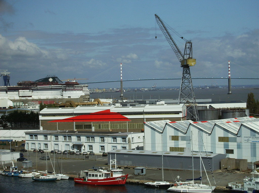 Eolien en mer : les éoliennes de Guérande seront assemblées à Saint-Nazaire