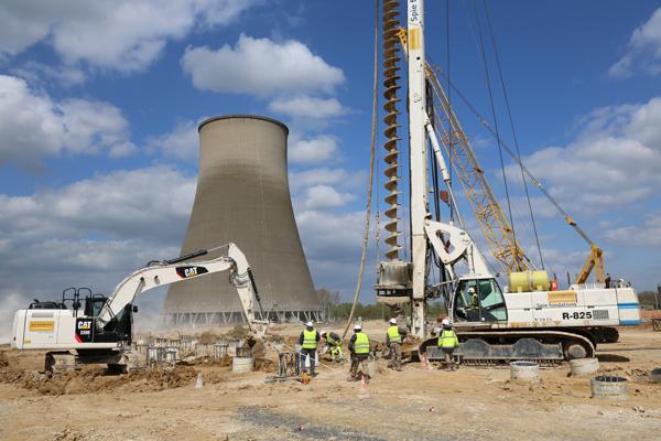 Un mille-pattes géant livrera la turbine électrique de la centrale de Bouchain