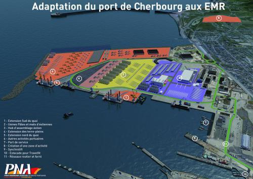 Le port de Cherbourg se prépare à l'arrivée des énergies marines