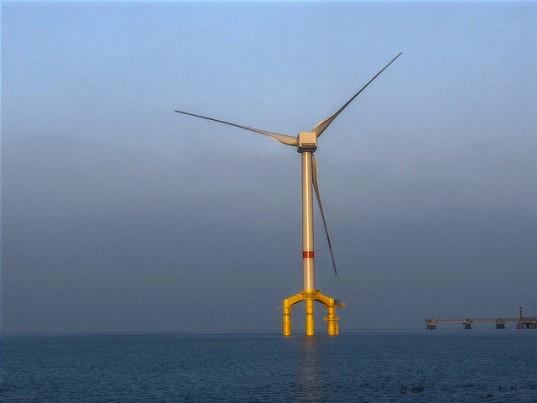 Le développement de l'éolien marin européen a le vent en poupe