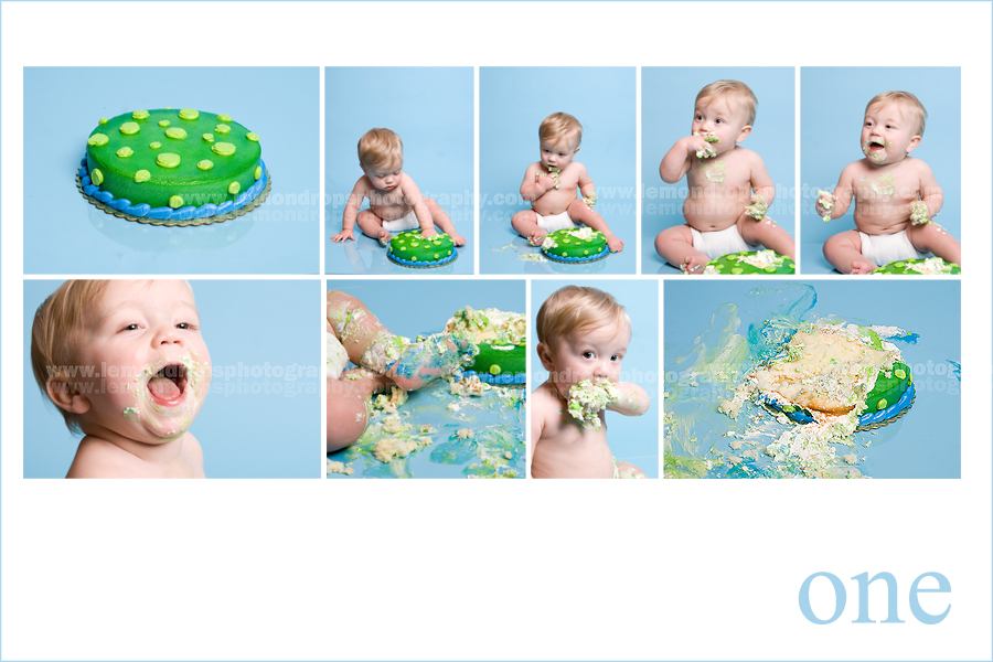 Foto Foto Smash One year smash the cake Lemondrops Photography 900x600