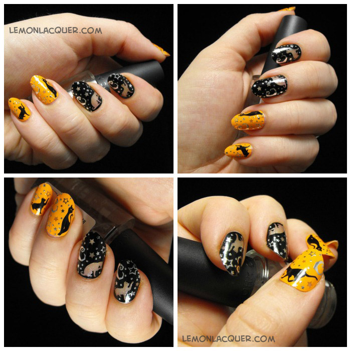 KISS Nail Dress - Lemon Lacquer