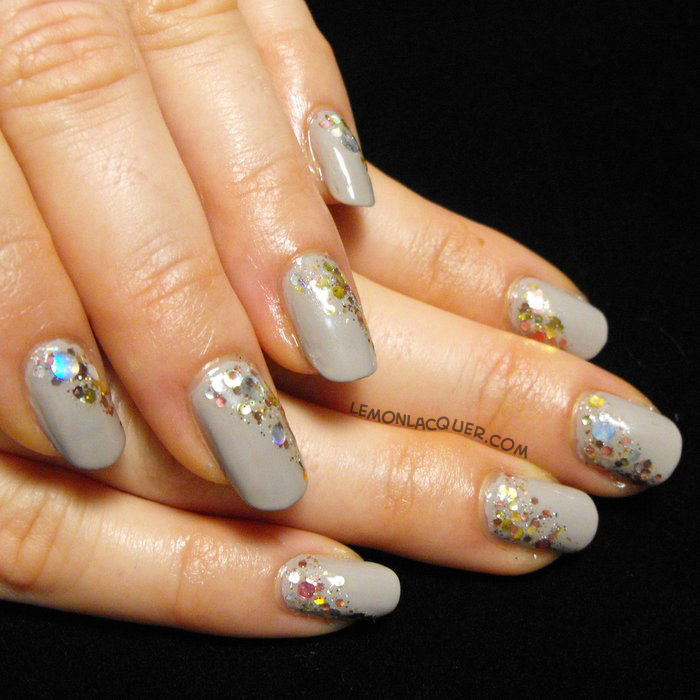 Essie - Take it Outside with KBShimmer - Toastess with the Most-est glitter