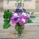 Pretty Up Your Grocery Store Flowers