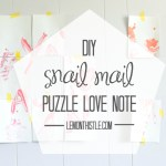Snail Mail: Puzzle Love Notes