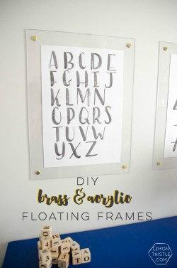 Small Of Acrylic Picture Frames