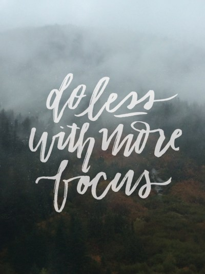 Do Less With More Focus: March Tech Wallpapers - Lemon Thistle