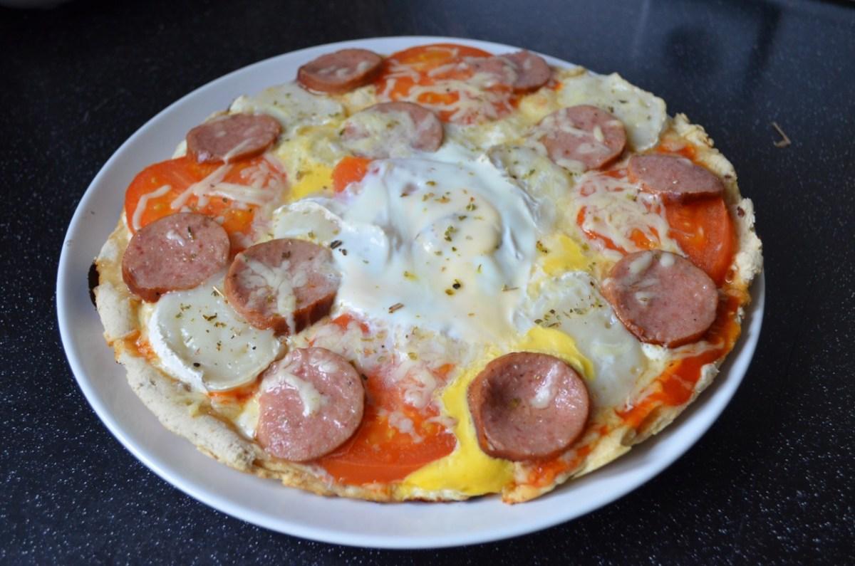 Pizza SIN HORNO muy crujiente
