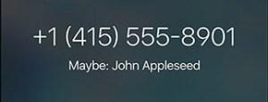 Menetahui siapa yang melepon kamu.
