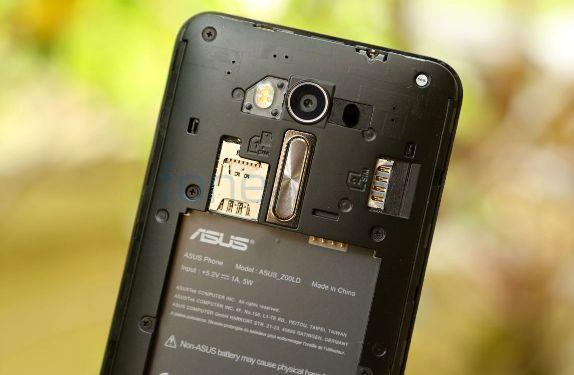 ZenFone Laser sisi belakang