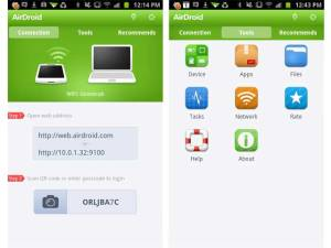 Kirim file dari android ke PC dengan AirDroid