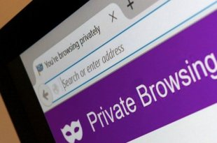 cara private browsing android