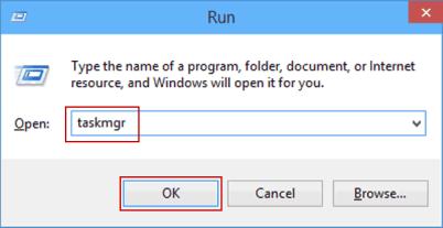 run task manager via isunshare.com