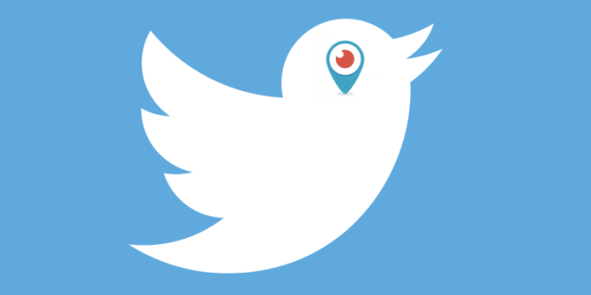 periscope and twitter