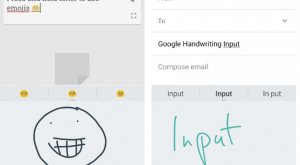 cara menggunakan google handwriting tools
