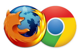 hapus otomatis cache history browser chrome dan firefox