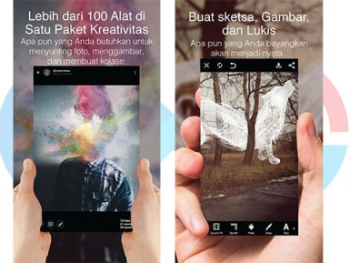 PicsArt, edit foto, edit photo, android