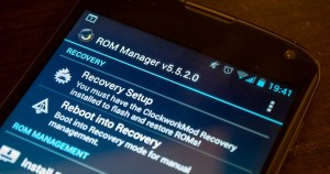 ROM Manager Android