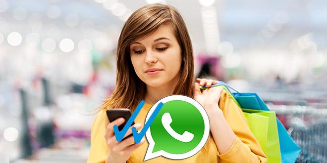 whastapp, women smartphone, wanita ponsel, smartphone whatsapp,Membaca Pesan WhatsApp