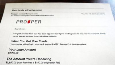 Prosper Loans Review: Is this company legit? Here's my experience.