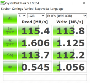 CrystalDiskMark HDD