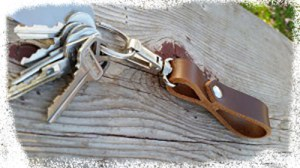 Leather Key Strap
