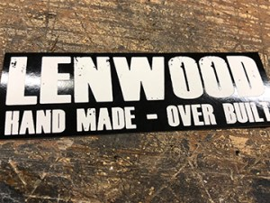 lenwood sticker