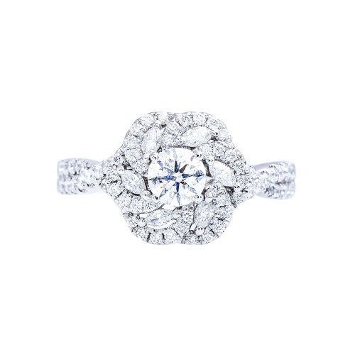 Medium Crop Of Vera Wang Engagement Ring