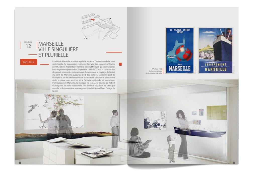 Brochure du nouveau Musée d'Histoire de Marseille