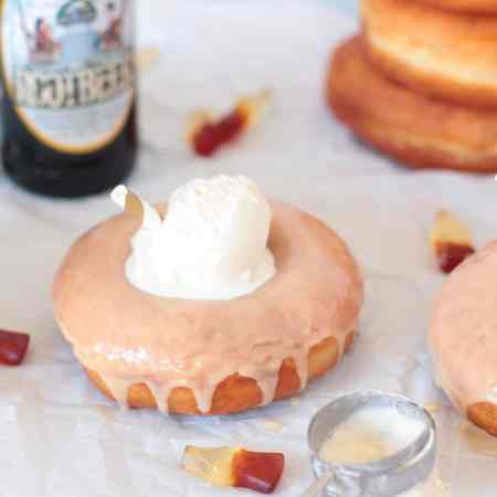 Root Beer Float Donuts