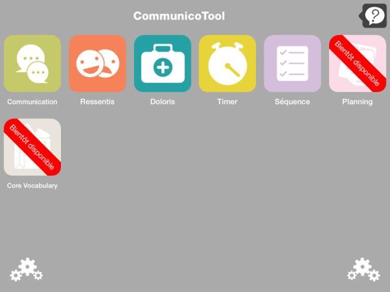 Communicotool 2 outil de communication pour autiste non-verbal