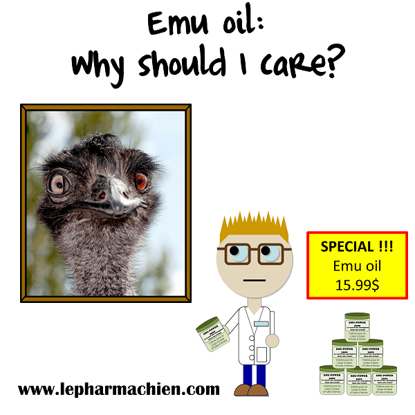 Emu oil: why should I care?