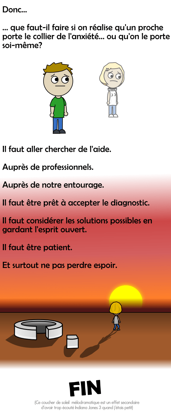 Accepter le diagnostic de l'anxiété